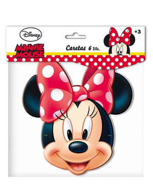 Lot de masques Minnie Mouse