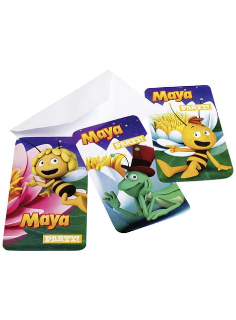 Uitnodigingen Set Maya de Bij