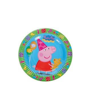 Peppa Pig Dessert Plate Set (18 cm)