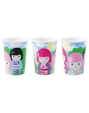 8 vasos Kimmi Junior