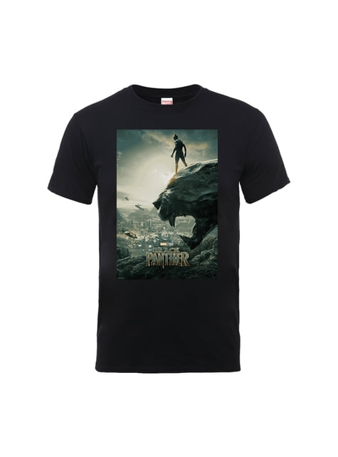 T-shirt Black Panther Movie Poster