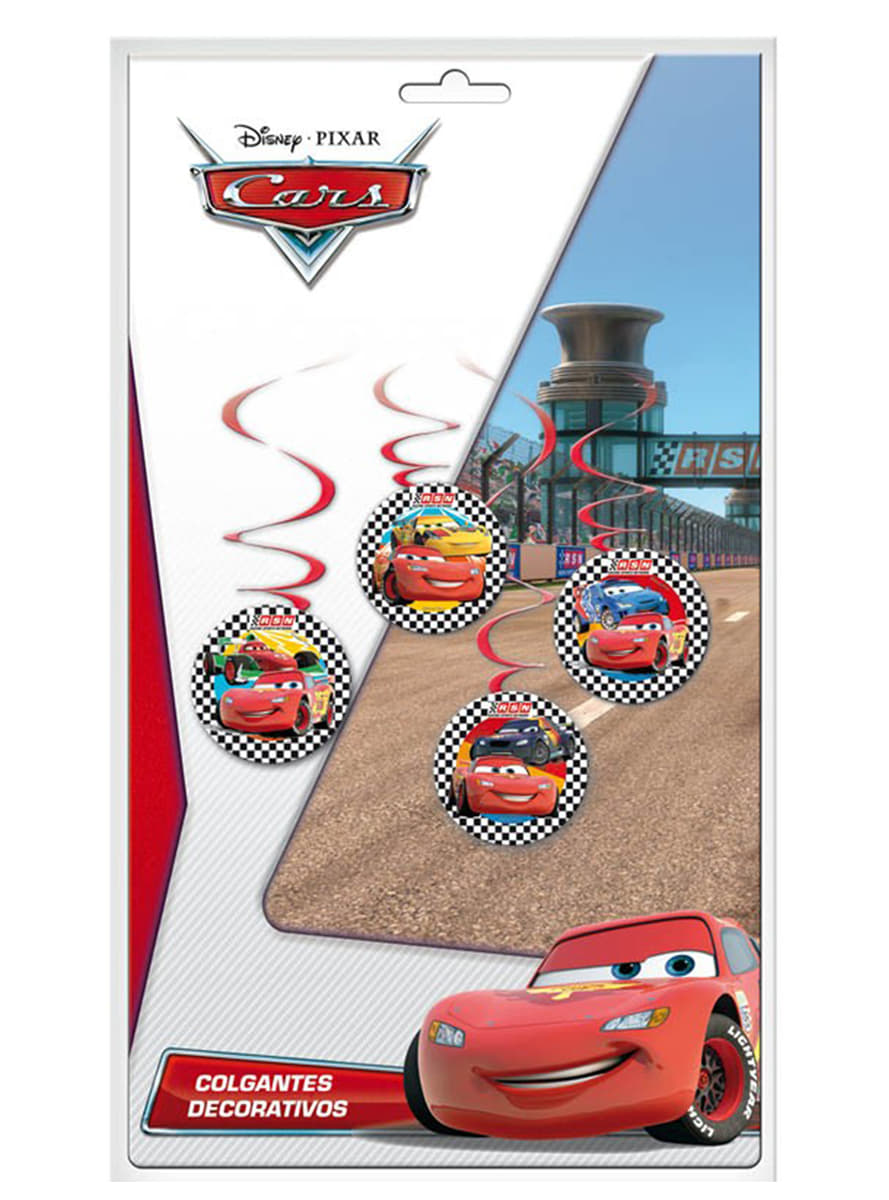 Conjunto de pingentes decorativos cars entrega 24h for Conjunto de espejos decorativos