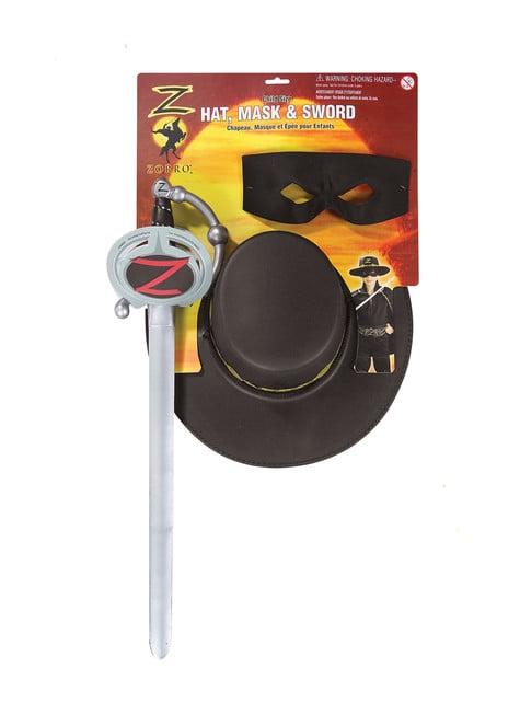Kit accesorios El Zorro