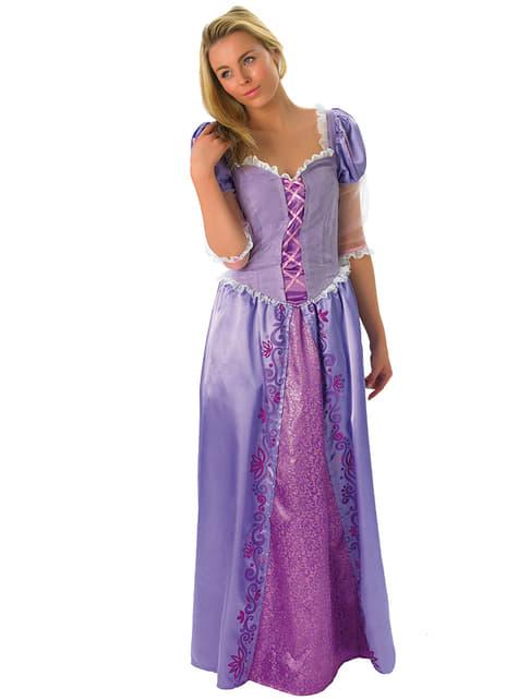 Fato de Rapunzel para adulto