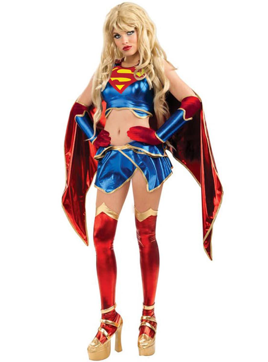 Supergirl Anime Adult Costume. Detalle Zoom  sc 1 st  Funidelia & Supergirl Anime Adult Costume. Fast delivery   Funidelia