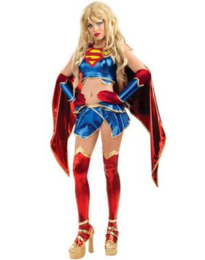 Supergirl Anime Kostyme for Dame