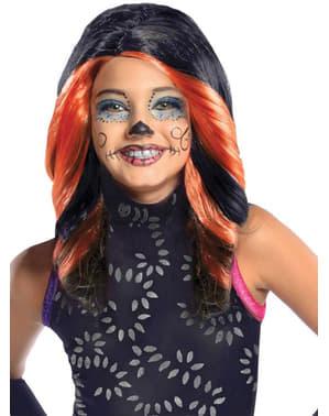 Peluca de Skelita Calaveras Monster High