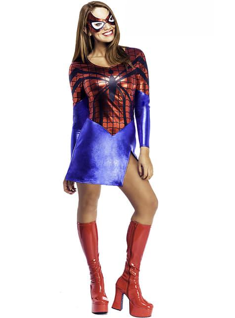 Klassisk Supergirl Kostyme Voksen