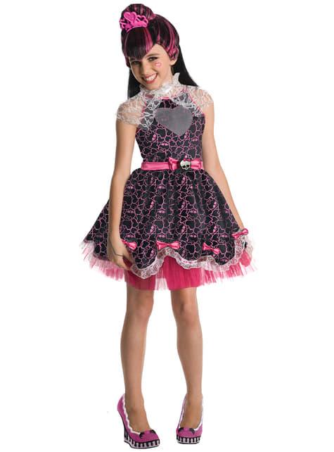 Detský kostým Draculaura Sweet 1600 (Monster High)