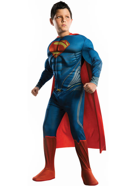 Superman Man of Steel Muscular Kids Costume