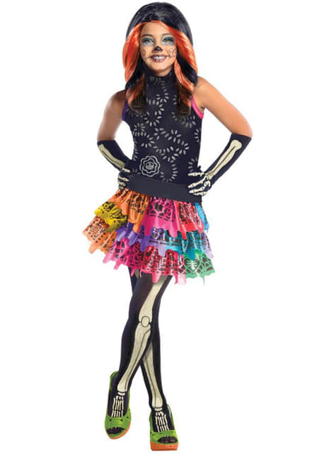 Monster High Skelita Calaveras Maskeraddräkt