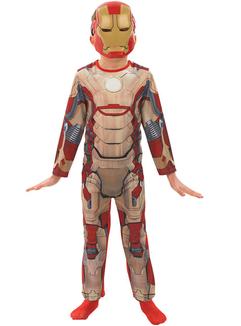 Affordable Iron Man 3 Child Costume