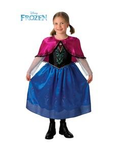 Disfraz de Anna Deluxe para niña a81c19f7f4f