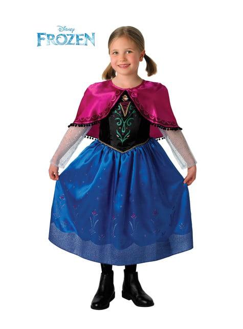 Disfraz de Anna Deluxe para niña