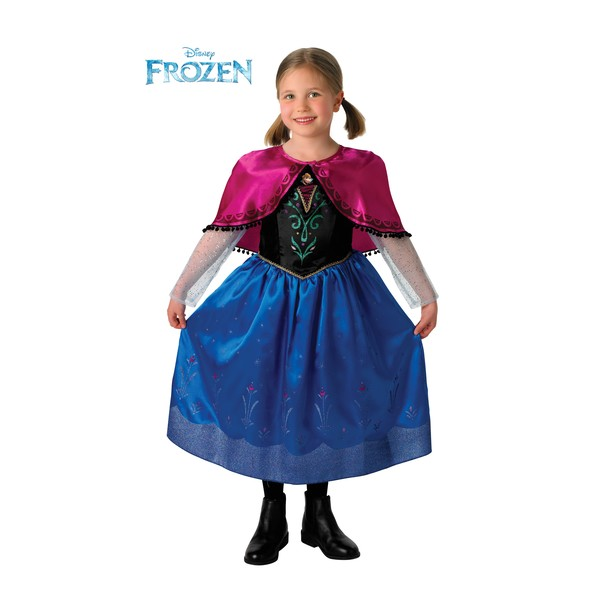 deluxe anna frozen child costume buy online at funidelia
