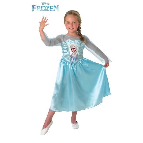 Costume de elsa frozen pour fille acheter en ligne sur funidelia - Jeux gratuit pour fille la reine des neiges ...