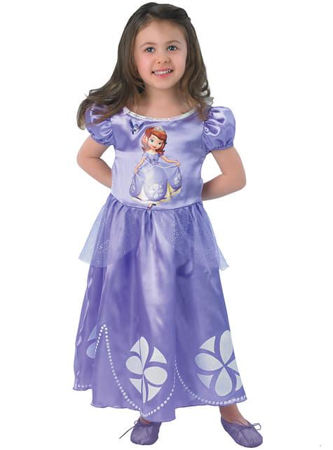 תלבושות הנסיכה סופיה ילדים