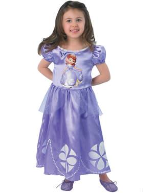 Costum Prințesa Sofia pentru fată