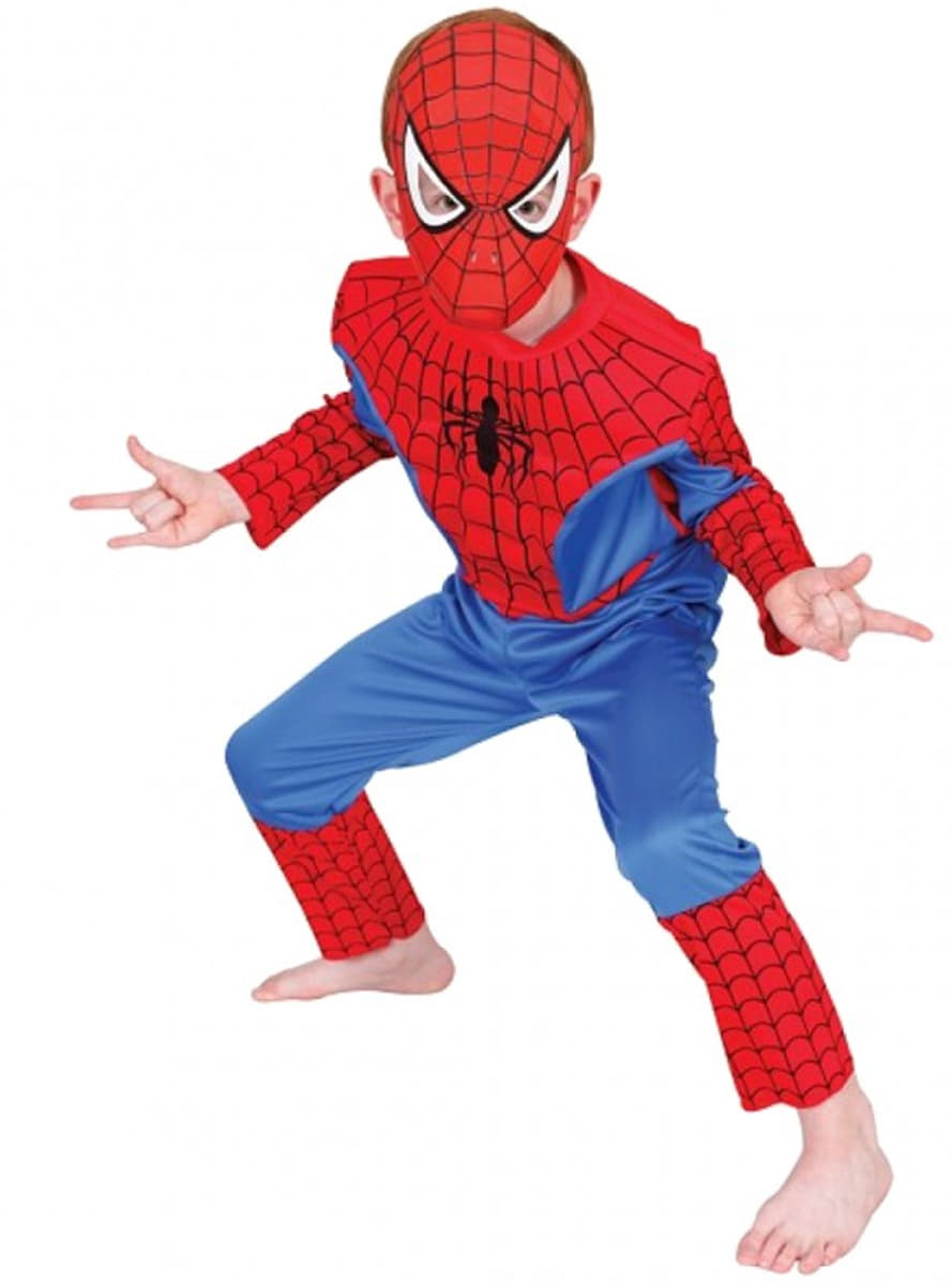 Boyu0027s Muscular Spiderman Costume. Detalle Zoom  sc 1 st  Funidelia & Boyu0027s Muscular Spiderman Costume. Fast delivery | Funidelia