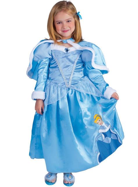 Disfraz de Cenicienta Winter para niña