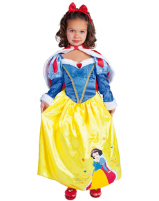 Snow White Winter Child Costume