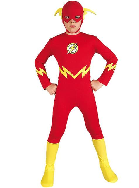 Fato de Flash Classic para menino