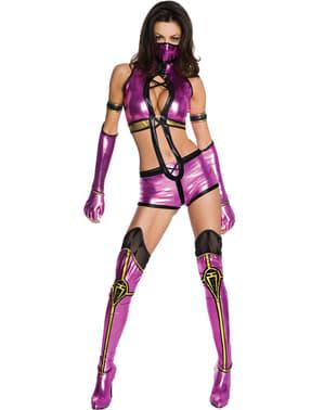 Mileena Mortal Kombat Kostum Dewasa