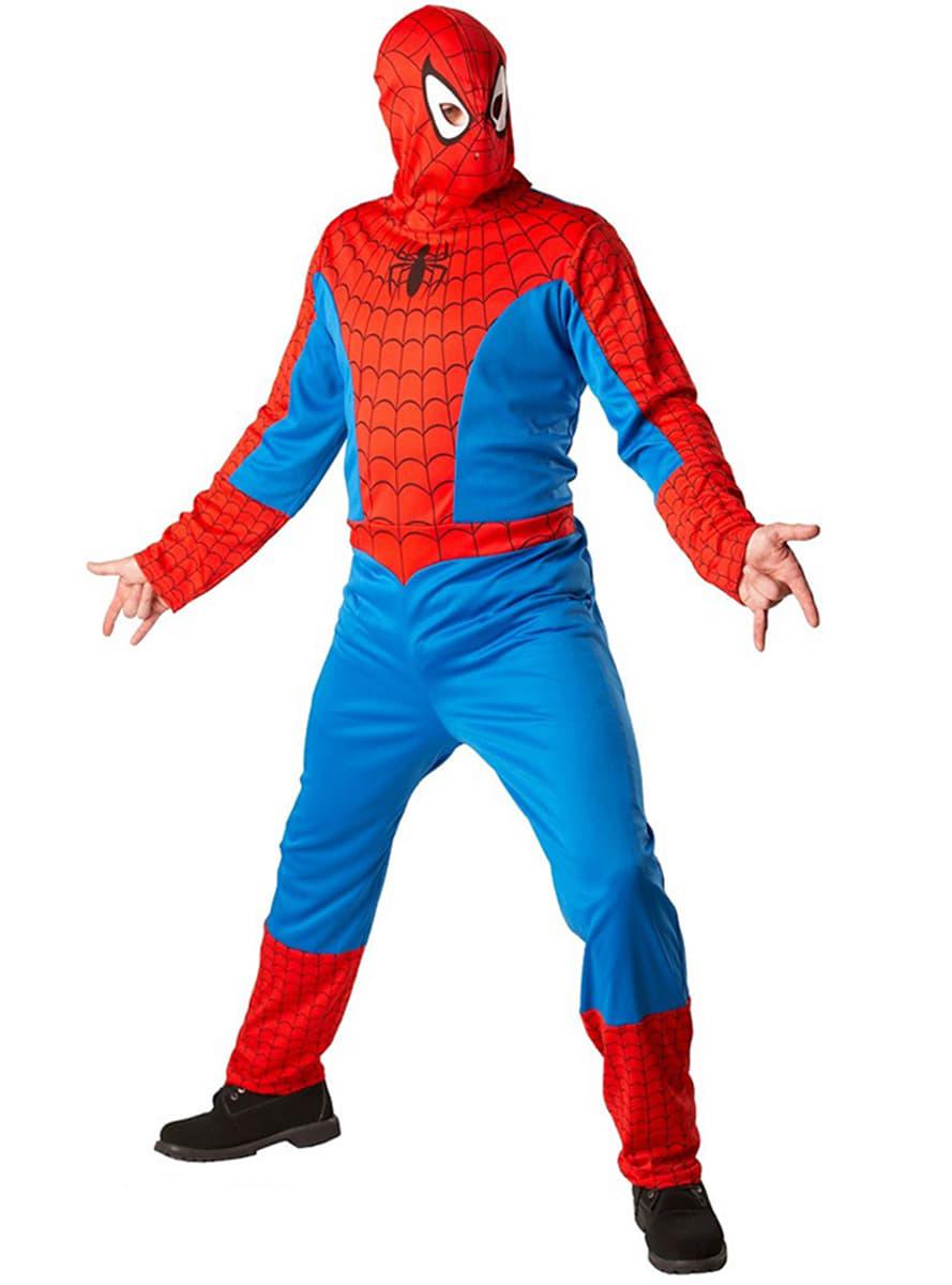 costume de spiderman classic pour adulte acheter en ligne sur funidelia. Black Bedroom Furniture Sets. Home Design Ideas