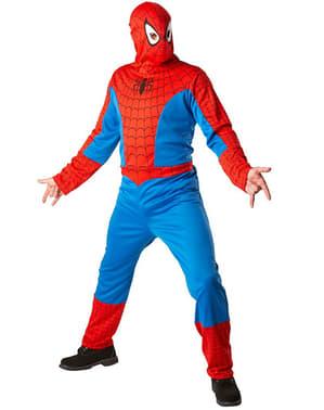 Maskeraddräkt Spiderman Classic för vuxen