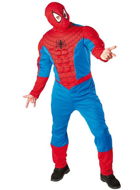 Déguisement de Spiderman Muscle pour adulte