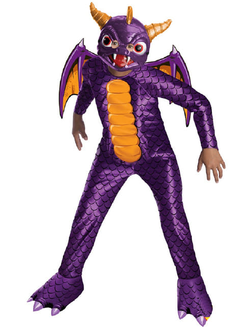 Skylanders: Spyro's Adventure Spyro Maskeraddräkt Barn