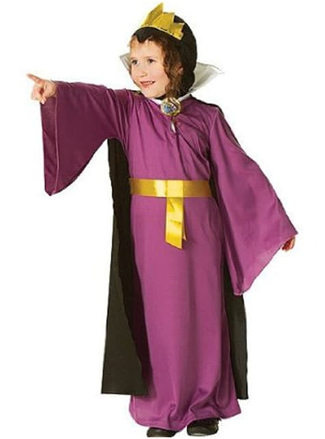 Costume Regina Cattiva Biancaneve da bambina