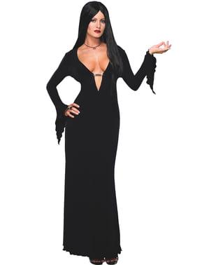 Costume Morticia Famiglia Addams sexy