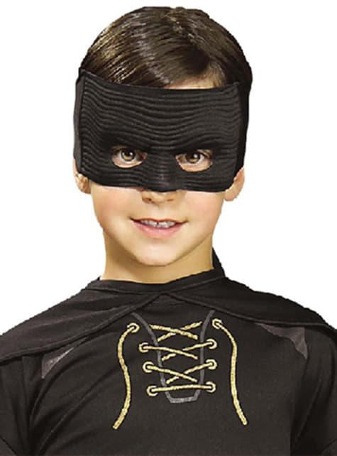 Máscara do Zorro para menino