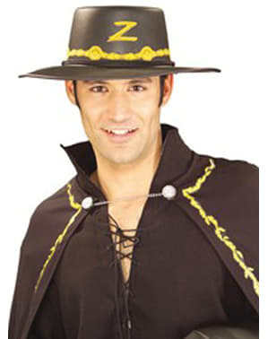 Cappello Zorro con decorazioni
