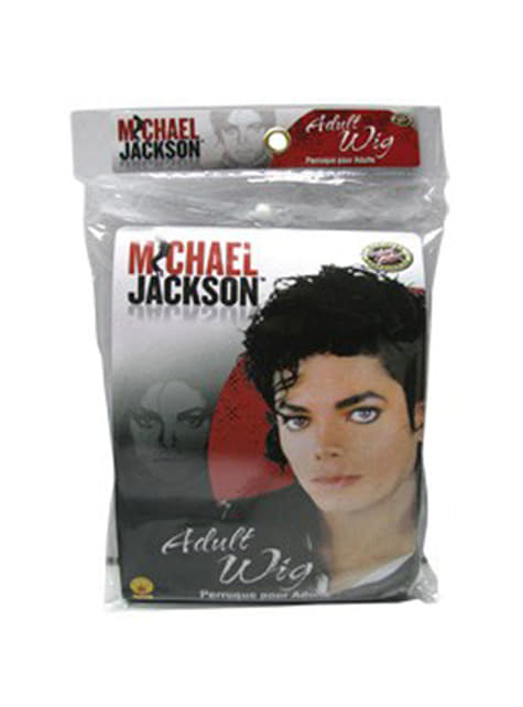 Peruca de Michael Jackson