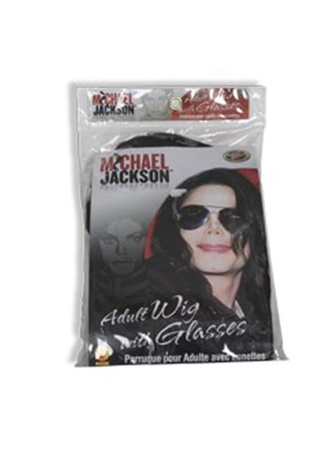 Peluca y gafas de Michael Jackson - para tu disfraz
