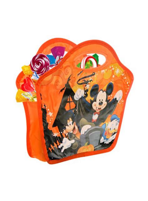Saco recolhe doces do Rato Mickey