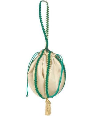 Grøn renæssancehåndtaske