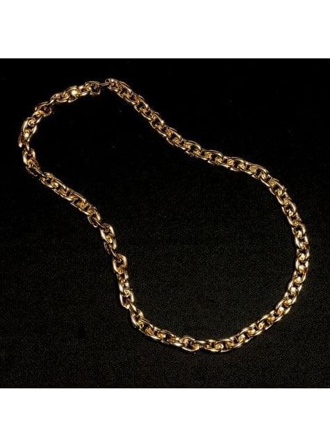 Cadena de oro falso