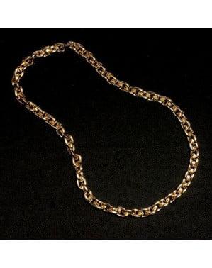 Łańcuch ze sztucznego złota