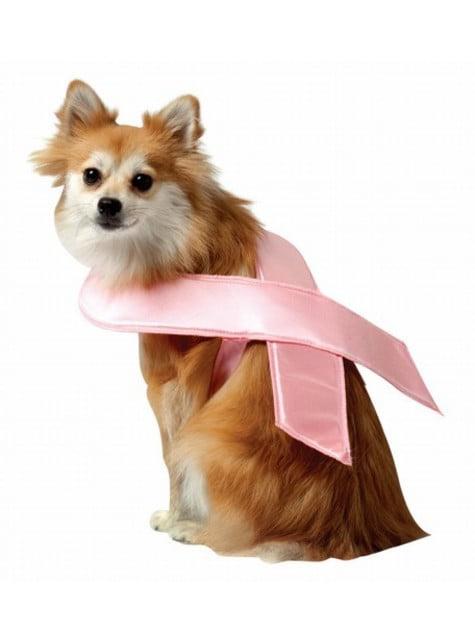 Розова лента за куче