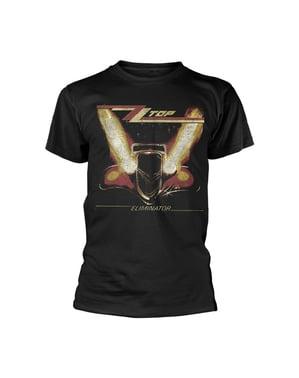 ZZ Top Eliminator-t-paita