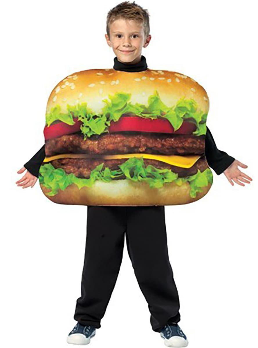 costume hamburger pour enfant funidelia. Black Bedroom Furniture Sets. Home Design Ideas