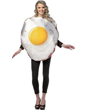 Costume œuf frit