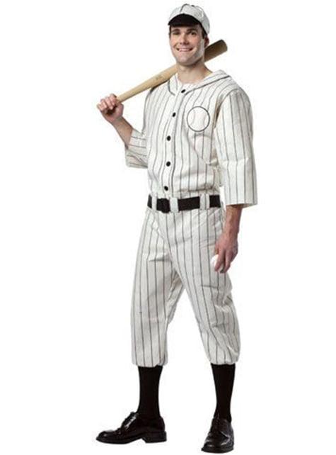 Honkbalspeler Kostuum