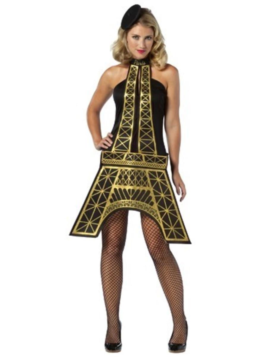 costume tour eiffel pour femme funidelia. Black Bedroom Furniture Sets. Home Design Ideas