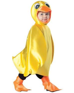 Déguisement de canard jaune pour bébé