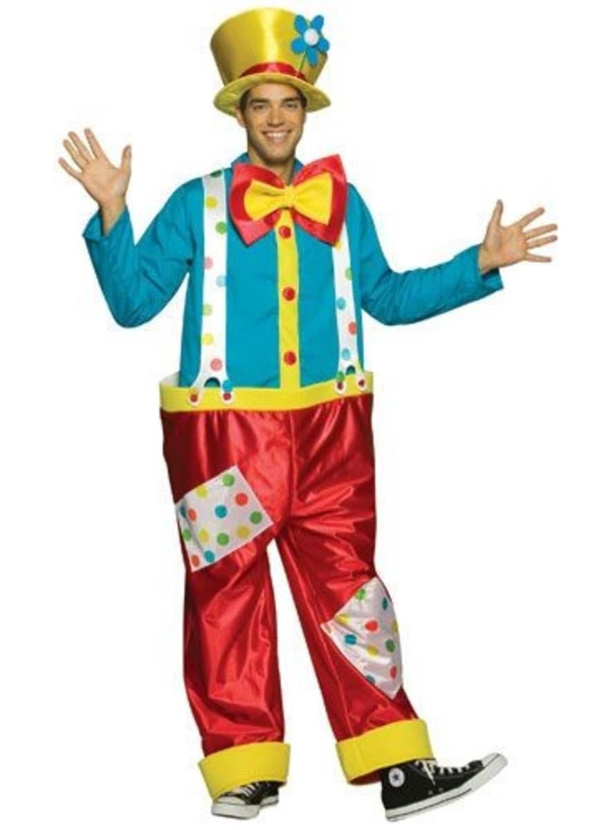 lustiger clown kost m funidelia. Black Bedroom Furniture Sets. Home Design Ideas