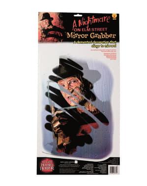 Décoration de mirroir Freddy Krueger